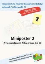 Miniposter 2: Ziffernkarten im Zahlenraum bis 20