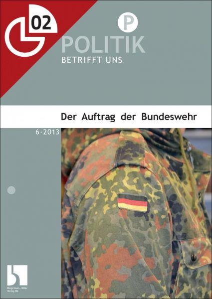 Der Auftrag der Bundeswehr