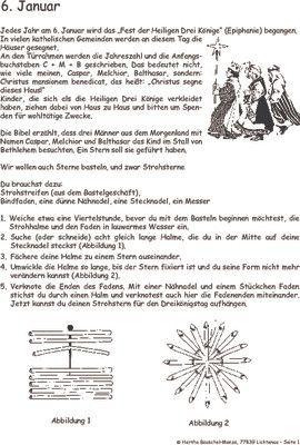 Heilige Drei Könige (Epiphanie) - 06. Januar: