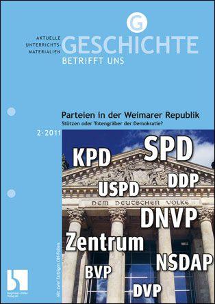 Parteien in der Weimarer Republik