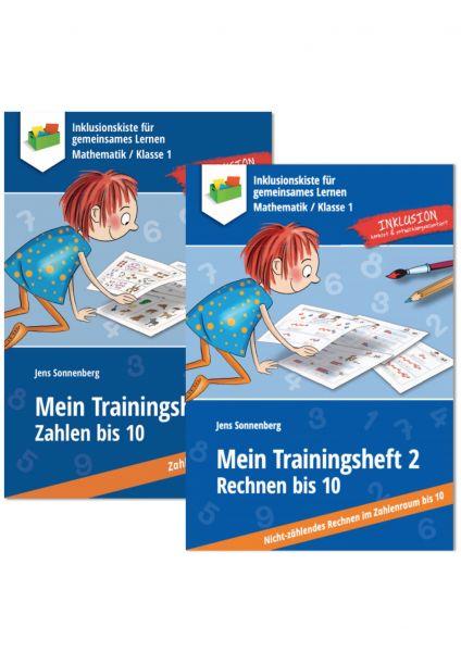 Sparpaket: Trainingshefte im Zahlenraum bis 10 - ein systematisches Basistraining!