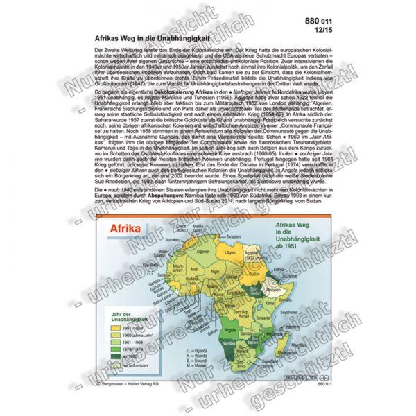 Afrikas Weg in die Unabhängigkeit