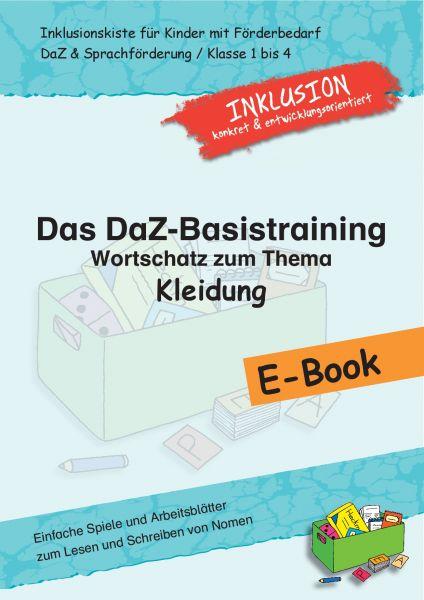 """Das DaZ-Basistraining: Wortschatz zum Thema """"Kleidung"""""""