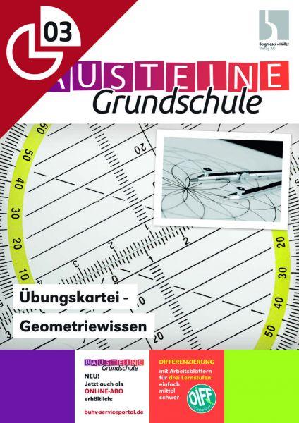 Übungskartei - Geometriewissen