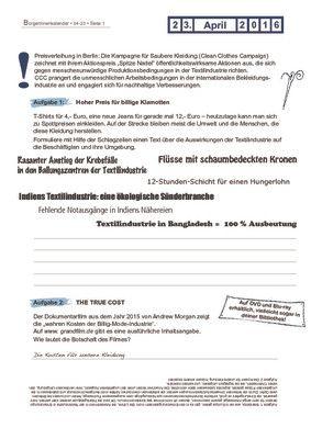 Aktionspreis Spitze Nadel - 23.04.2016