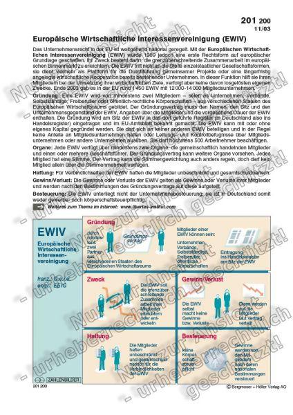 EWIV - Europäische Wirtschaftliche Interessenvereinigung