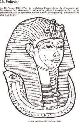 Grabkammer des Tutanchamun - 16.02.1923