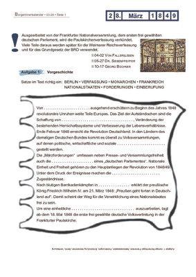 Paulskirchenverfassung - 28.03.1849