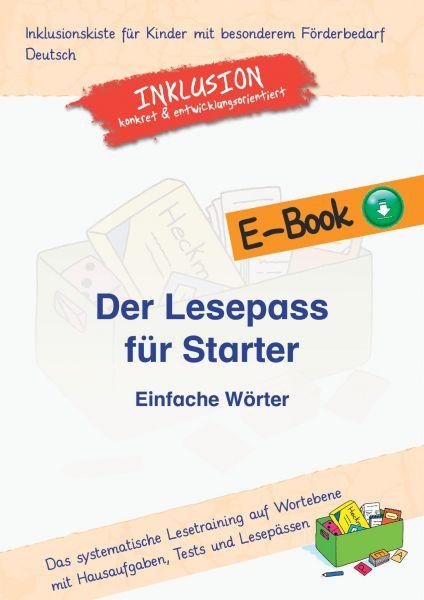 Der Lesepass für Starter: Einfache Wörter (Maxi-Edition)