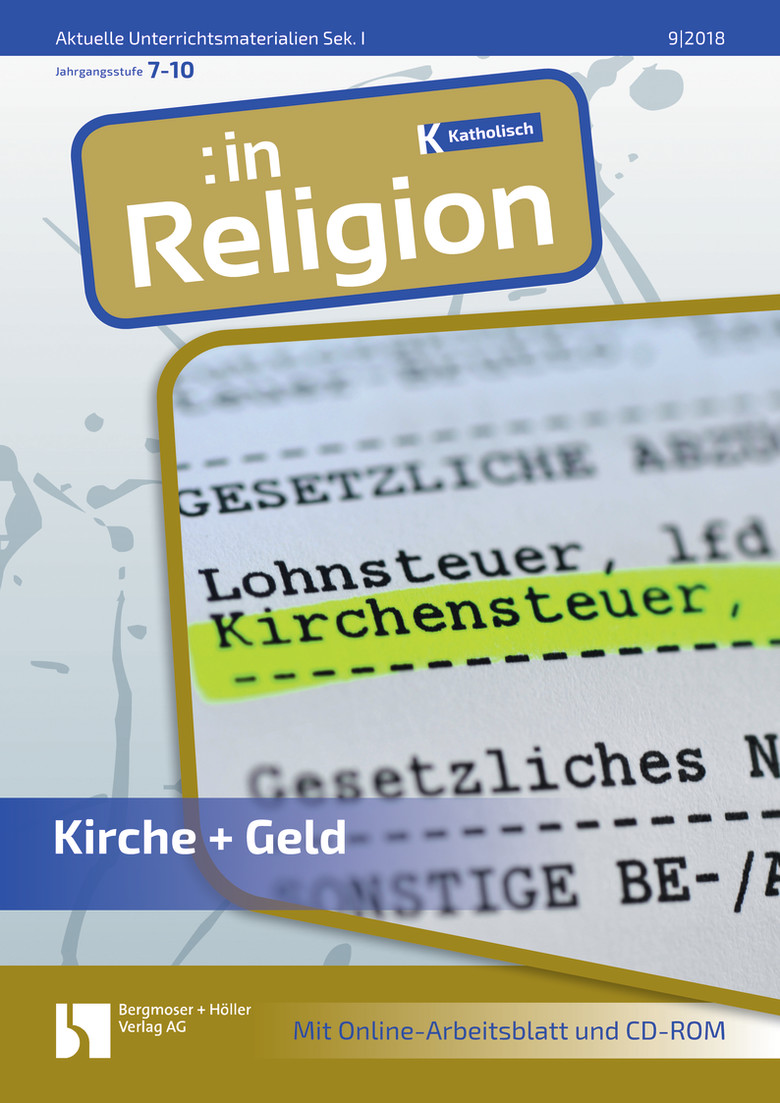 kirche geld in religion religion sekundarstufe i arbeitsbl tter online. Black Bedroom Furniture Sets. Home Design Ideas
